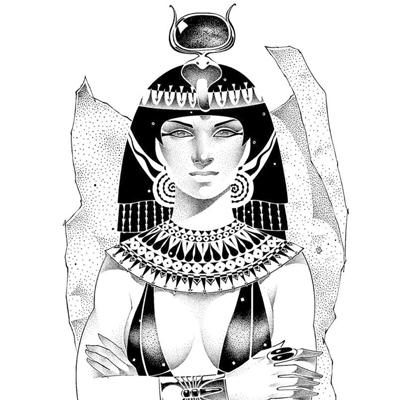 kleopatras schminke war gut f r die augen gesicht. Black Bedroom Furniture Sets. Home Design Ideas